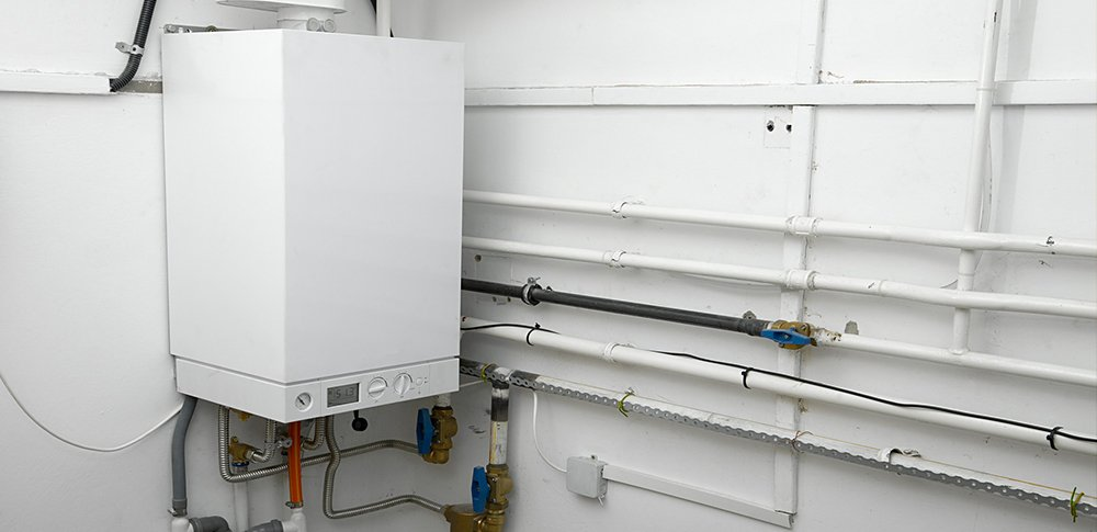 Red Deer Plumb-Pro modulating condensing hydronic gas boiler system